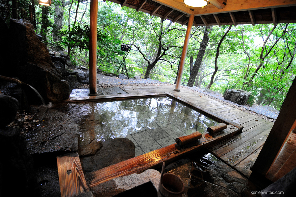 Japanese bathing culture and geothermal development