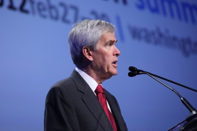 Senator Jeff Bingaman with keynote at international conference in Washington May 23, 2012