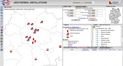 Germany opens public access to online Geothermal Information System