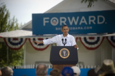 President Obama addressing geothermal at recent Nevada event