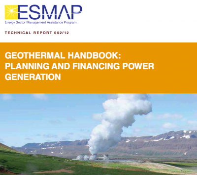 World Bank releases Geothermal Handbook on Planning and Financing