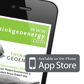ThinkGeoEnergy iPhone App