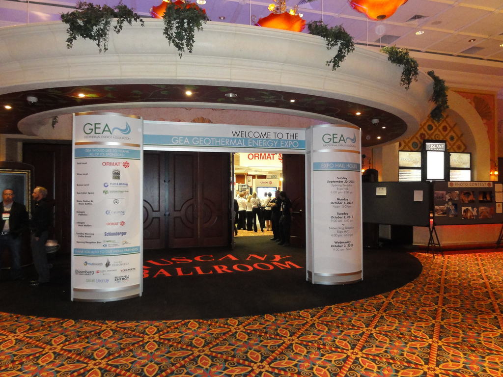 Last chance: book remaining booth space at GEA Geothermal Expo in 2 weeks