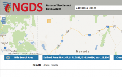 U.S. National Geothermal Data System launches new website
