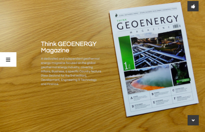 New Website for the Think GEOENERGY Magazine