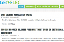 GEOELEC Website