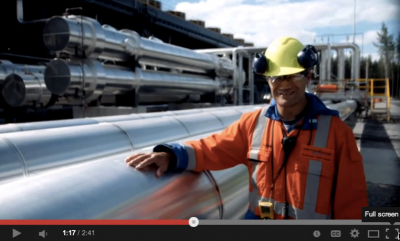 Nice videos from a recent open day of the Ngatamariki geothermal plant in NZ