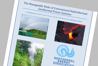 Report: Manageable Risks of conventional geothermal systems