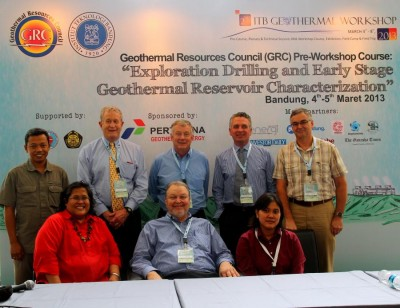 ITB International Geothermal Workshop, March 3-7, 2014