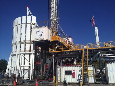 Video: Geothermal Rig installation by Iceland Drilling