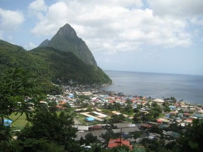 Background on the geothermal development efforts on Saint Lucia, Caribbean