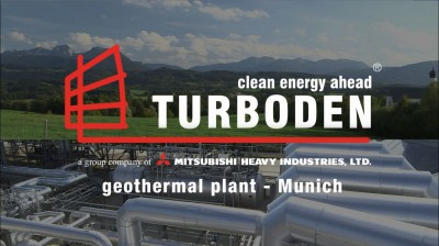 Video: Turboden geothermal power plant near Munich
