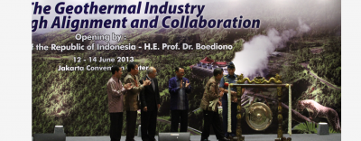 Indonesia International Geothermal Convention & Exhibition, June 4-6, 2014