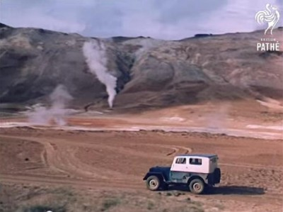 Historic video on geothermal use in Iceland from 1961