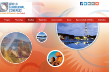 WGC 2015 - Website frontpage