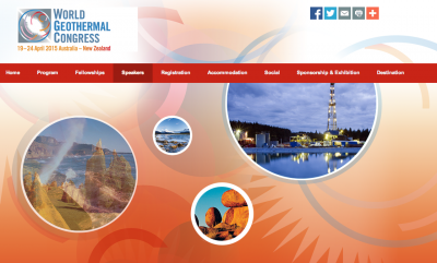 Keynote speakers announced for 2015 World Geothermal Congress