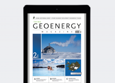 Think GEOENERGY Magazine now available on iPad