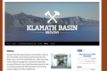 Klamath Basin Brewing Company Website