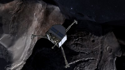 Rosetta spacecraft drilling on comet vs. geothermal drilling