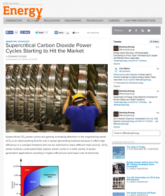 Supercritical CO2 Power Cycles Turbines an option for geothermal?