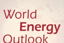 Screenshot from the cover of the 2010 World Energy Outlook Report from the IEA