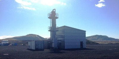 Innovative new non-condensing gas plant at Hellisheidi geothermal plant
