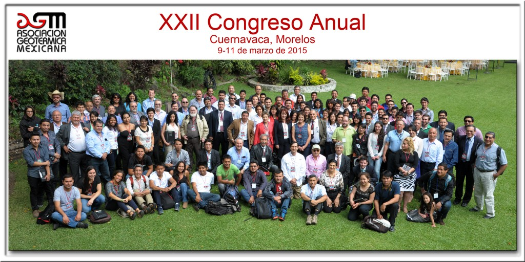 Mexican Geothermal Association held successful 22nd Annual Congress and Assembly