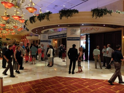 Pictures: Opening reception of 2015 GEA Geothermal Expo, Reno, Nevada