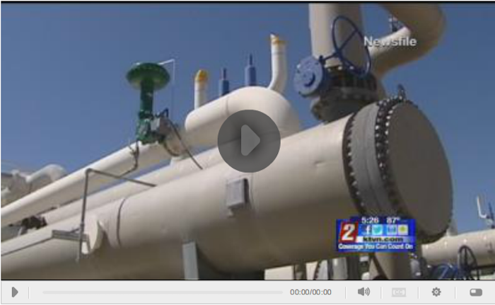 Short local TV report on the GRC Annual Meeting and GEA Geothermal Expo this week