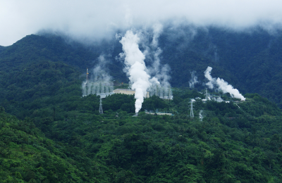 Typhoon effects geothermal power generation on Leyte, Philippines