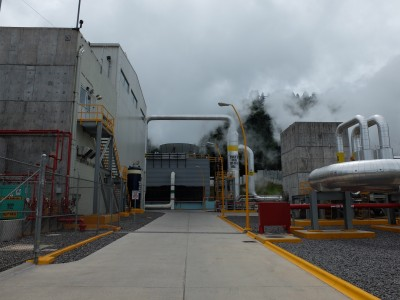 Pictures from the Los Azufres III, Phase 1 plant in Mexico