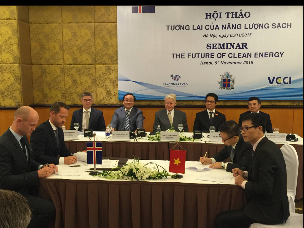 Icelandic and Vietnamese law firms to cooperate on geothermal regulatory reform and funding