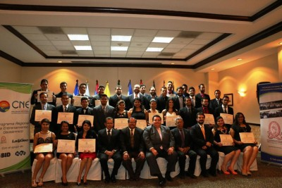 Graduation at El Salvador Geothermal Diploma Program 2015