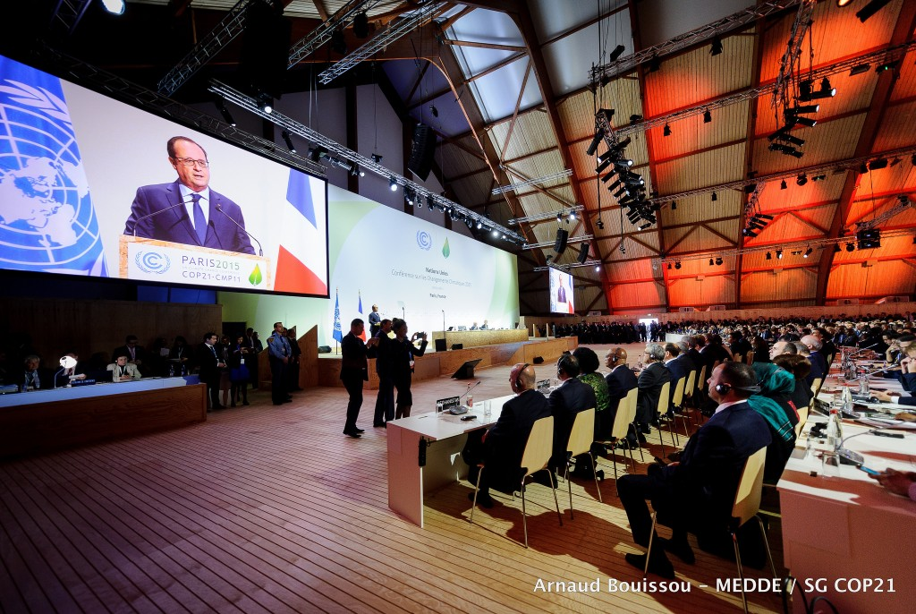 Putting a price on carbon to level playing field for renewables, COP21