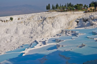 Geothermal hot springs – a huge source of tourism revenue in Turkey