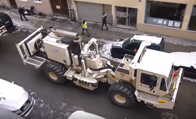 Video: seismic study for possible geothermal heating project in the city of Munich, Germany