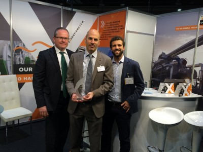 Exergy wins European Geothermal Innovation Award 2016