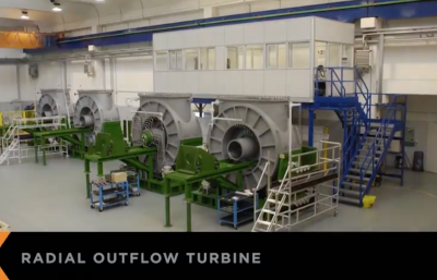 Video: Time-lapse of turbine assembly by Exergy
