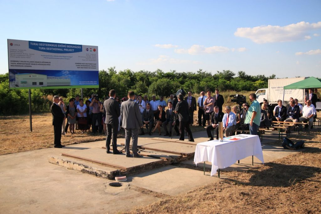 Hungarian geothermal heat and power plant expected to start operation in May 2017
