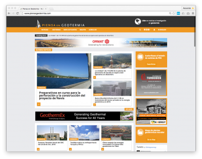 ThinkGeoEnergy launches new website for its Spanish PiensaGeotermia platform