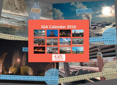 Seeking your favourite geothermal photo for the IGA Calendar 2017