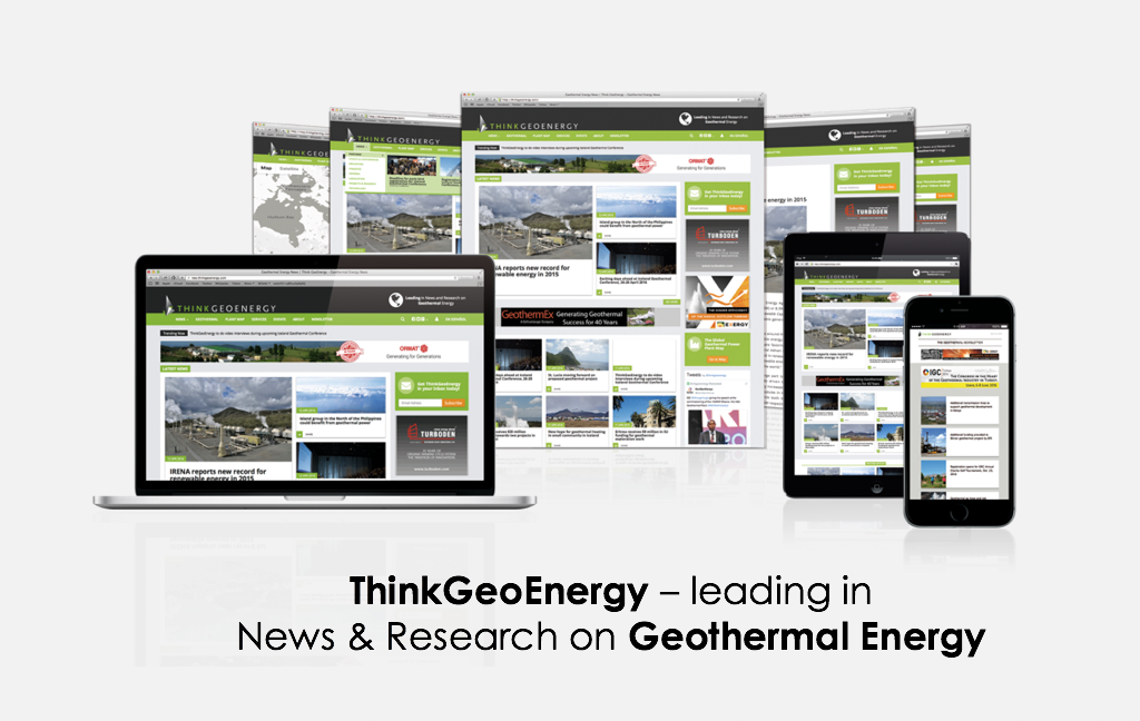 Advertise on ThinkGeoEnergy – the news platform for the geothermal industry