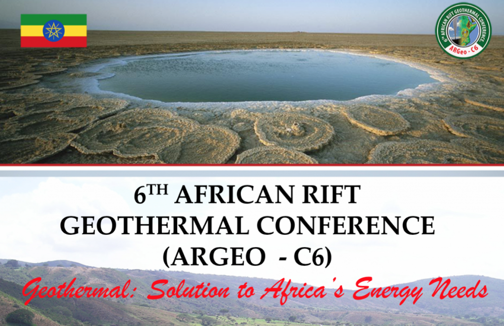 6th African Rift Geothermal Conference ARGEO – early bird registration until Sept. 30, 2016