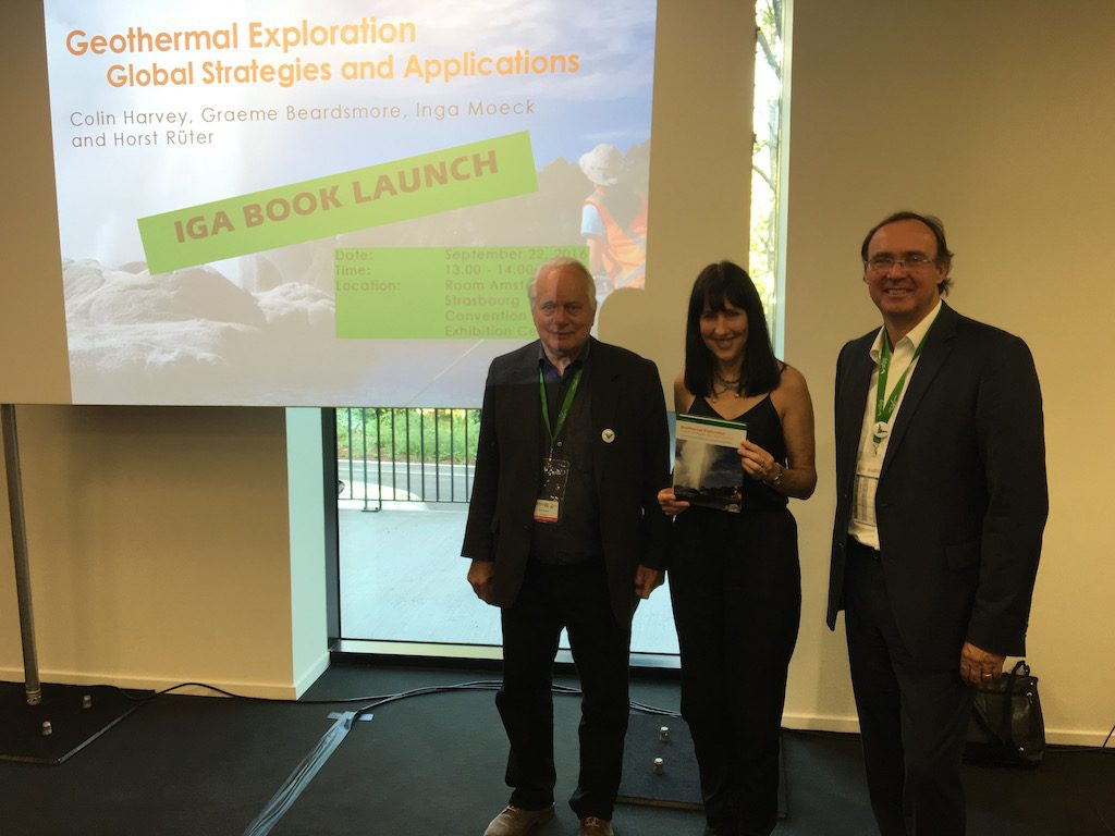 Launch of IGA Book on Geothermal Exploration – Strategies & Applications