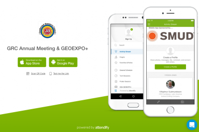 GRC Annual Meeting & GEOEXPO+ – there is an app for that