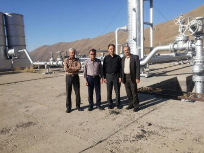 Pictures from the Sabalan geothermal project in Iran