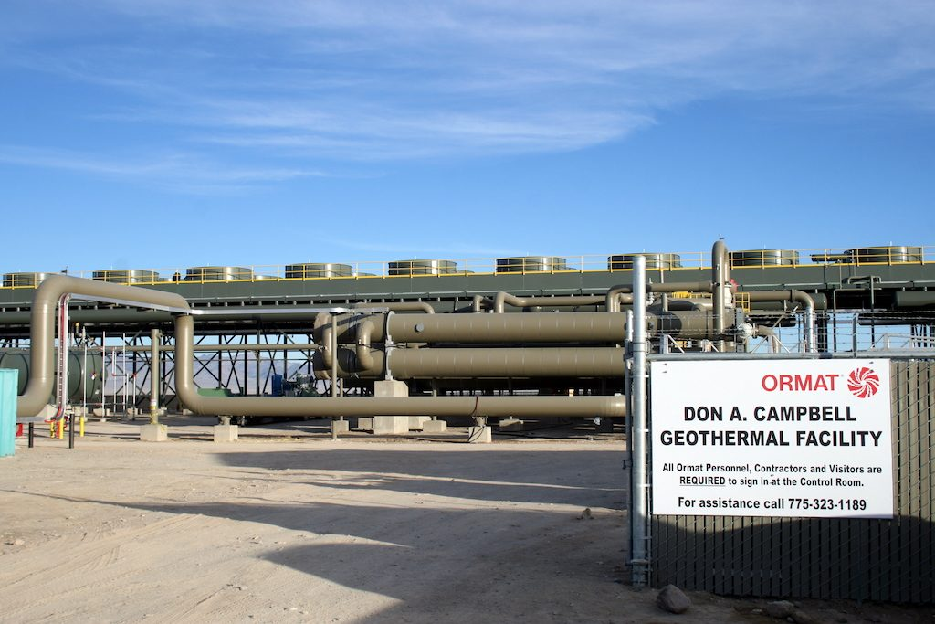 Ormat raises $92.5 m in refinancing of geothermal plant in Nevada