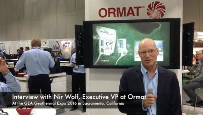 Video: Introduction on Ormat with Nir Wolf, Executive Vice President