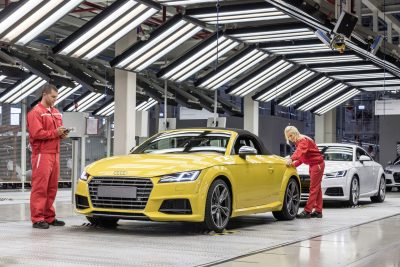 Geothermal energy helps cut down CO2 at plant for car maker Audi in Hungary