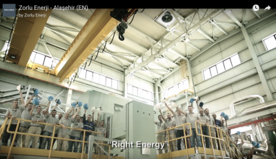 Great video showing the new 45 MW Manisa Alasehir Geothermal Power Plant, Turkey